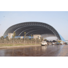 Steel Structure Arch Coal Storage Shed