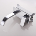 HIDEEP Wall Mount Full Brass Basin Faucet