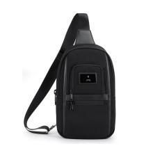 wholesale waterproof crossbody sling bag triangle men chest shoulder backpack