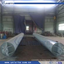 Tubo flotante de acero para draga (USB043)