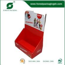 Caja de visualización de papel corrugado personalizada