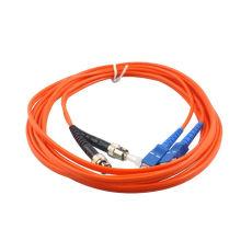 Mm duplex 2mm sfp amplificador fibra cabo de remendo óptico, sc / upc para fc / upc cabo de remendo óptico