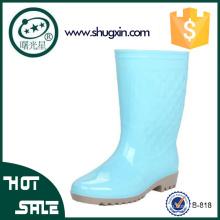 zapatos de lluvia de goma del jardín zapatos de lluvia de plástico de goma