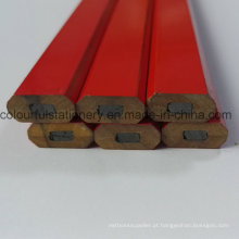 Lápis de carpinteiro de madeira Hb para presente de promoção