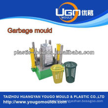 Industry plastic garbage bin mould Injection mould, plastic garbage basket mould