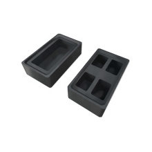 High Purity Customized Graphite Ingot mold for Gold Silver Sintering