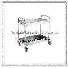 S089 Assembling Heavy DutyStainless Steel Service Trolley