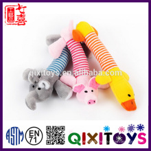 Interesting dog accessories cheap plush pet toys