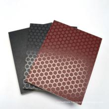12mm big size 5'*10'  Eucalyptus melamine glue black film faced plywood for formwork template