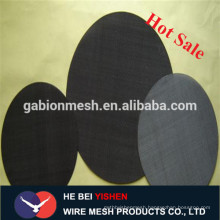 Black wire mesh/black welded wire fence mesh panel real factory