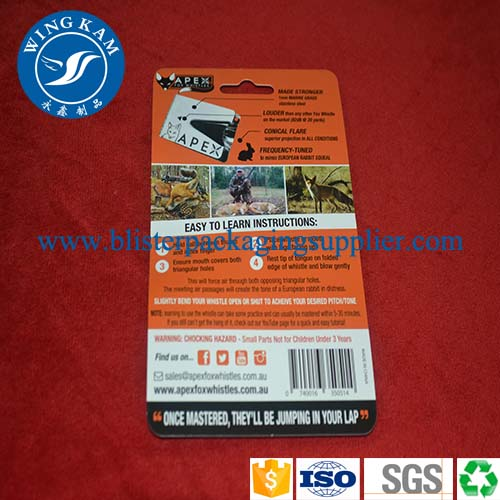 customized slide card packaging,