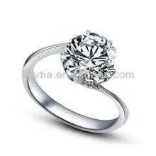 Bijoux en diamant 925 en argent sterling délicats et délicats