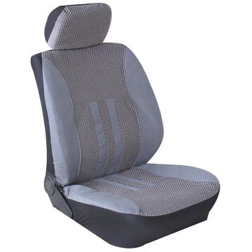housse de siège avant de voiture en tissu suédé universel