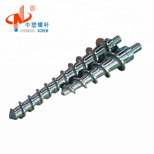Baril de vis en caoutchouc d'alimentation à froid pour l'extrusion de fil de PVC