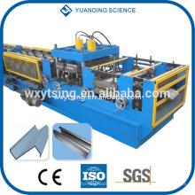 Passé CE et ISO YTSING-YD-0761 CZ machine interchangeable purlin, cylindre CZ rouleau formant la machine