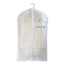 Sacos personalizados não tecidos reusáveis da tampa do terno dos pp