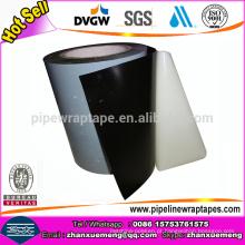 Fita do envoltório da tubulação da fita da borracha butílica 3-Ply para o encanamento de aço
