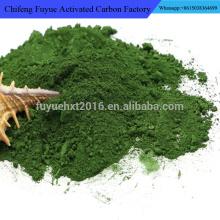 Umweltfreundliches natürliches Pigment-Chrom-Oxid-Grün-Puder