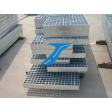 Type 4 Galvanized Steel Grating for Stairs Tread