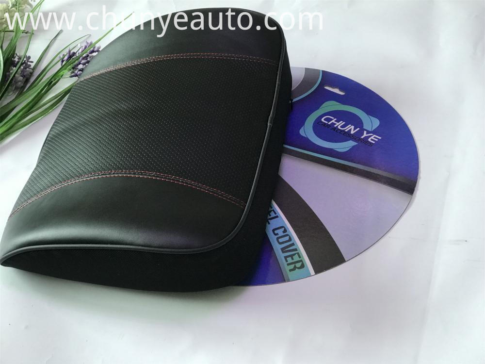 real leather car seat lumbar support