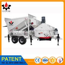 MB1500 Mobile Batching Plant Wholesale Concrete Mix Plant For Sale