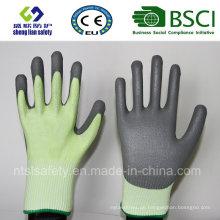 Schnitt-Sicherheits-Handschuh mit PU beschichtet