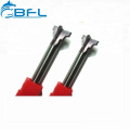 Customized End Mill Tools/Solid Carbide Cutting Router Bit For Lathe