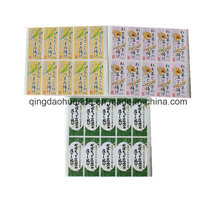 Paper and PVC Printed Adhesive Labels