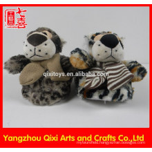 High quality animal shape slipper rubber sole tiger toy plush slipper