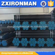 ASTM A192 tubos de caldeira aço carbono sem costura