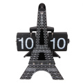 Tour Eiffel Horloge De Table