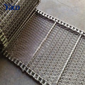 Stainless steel 304 conveyor belt mesh band, flat wire mesh belt