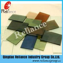 Vidrio flotado coloreado / vidrio teñido con ISO