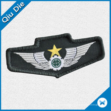 Customized Woven Bagde Shoulder Patch for Garment/Clothing/Apparel