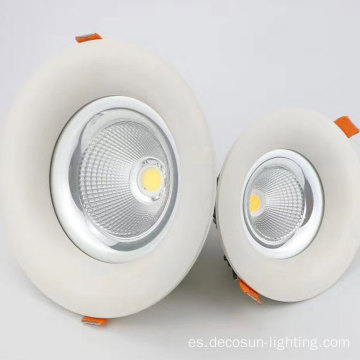 Downlight LED COB antirreflejo 6w