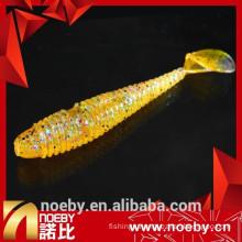 fragrance & luminous soft scent lure double-color best fish lures