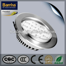 Venda Hottst BSL012L 12W energia verde levada luz de teto ajustável