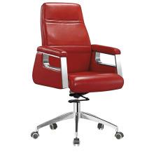 Cadeira de reunião de escritório de couro de segunda mão de alta qualidade (HF-B1502)