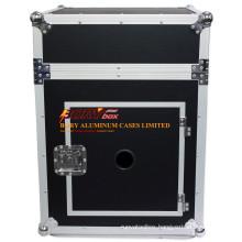 "Universal ATA 10u 12 Deep Slant Rack Mount AMP 19"" Mixer Flight Road Case"