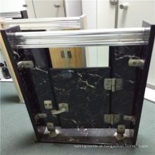 Painéis de favo de mel de alumínio da cor da pedra para portas e divisória do toalete