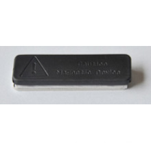 Neodymium Soporte para Insignia Magnética Iman Plastificado De Neodimio 45X13mm