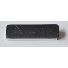 Neodymium Magnetic Badge Holder Iman Plastificado De Neodimio 45X13mm