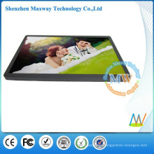19 inch resolution 1440 X 900 LCD ad player bus