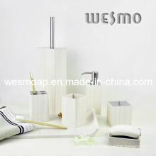 Blanco lavado baño de bambú efecto (wbb0303b)