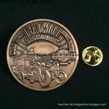 Fördernde kundengebundene geformte Acrylabzeichen mit Pin