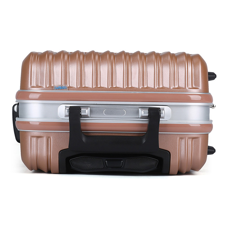 Aluminum frame hard ABS shell luggage12