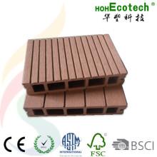 Decking exterior composto plástico de madeira de 150 * de 30mm para a varanda e o pátio