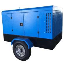 58KW 80HP 7m3/min 7bar Screw Compressor portable Diesel Engine Compressor