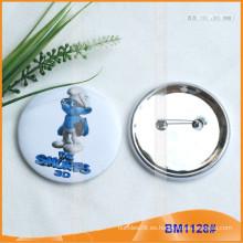 Insignias personalizadas de botones de metal de hojalata metálica BM1128
