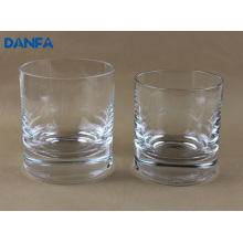 270ml y 360ml de vidrio de beber soplado en la boca